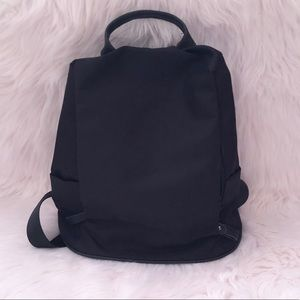 Unique Five Pocket Backpack Black